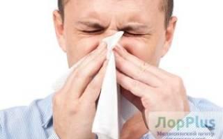 Промывание носа у лора