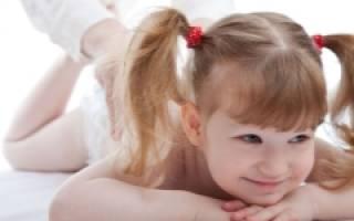 Медовый массаж от кашля для детей
