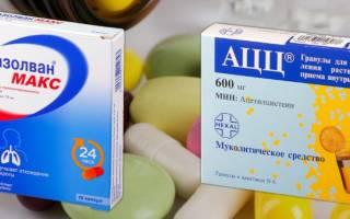 Что лучше ЛАЗОЛВАН или ФЛУИМУЦИЛ — Сравнение лекарств