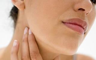 Что делать, если воспалились лимфоузлы на шее