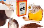 Эффективное средство от кашля — молоко с пищевой содой