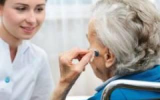 Как получить инвалидность по слуху пенсионеру